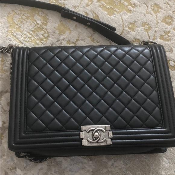 55cfd56426b60 CHANEL Bags | Jumbo Boy Bag 100 Authentic | Poshmark